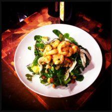 Prawn & Bean Salad