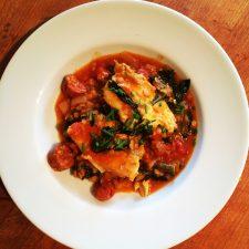 Haddock & Chorizo Casserole
