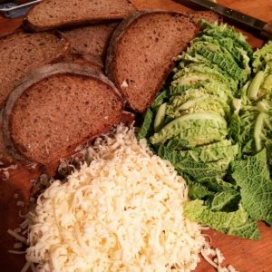 cabbage-bread-cheese