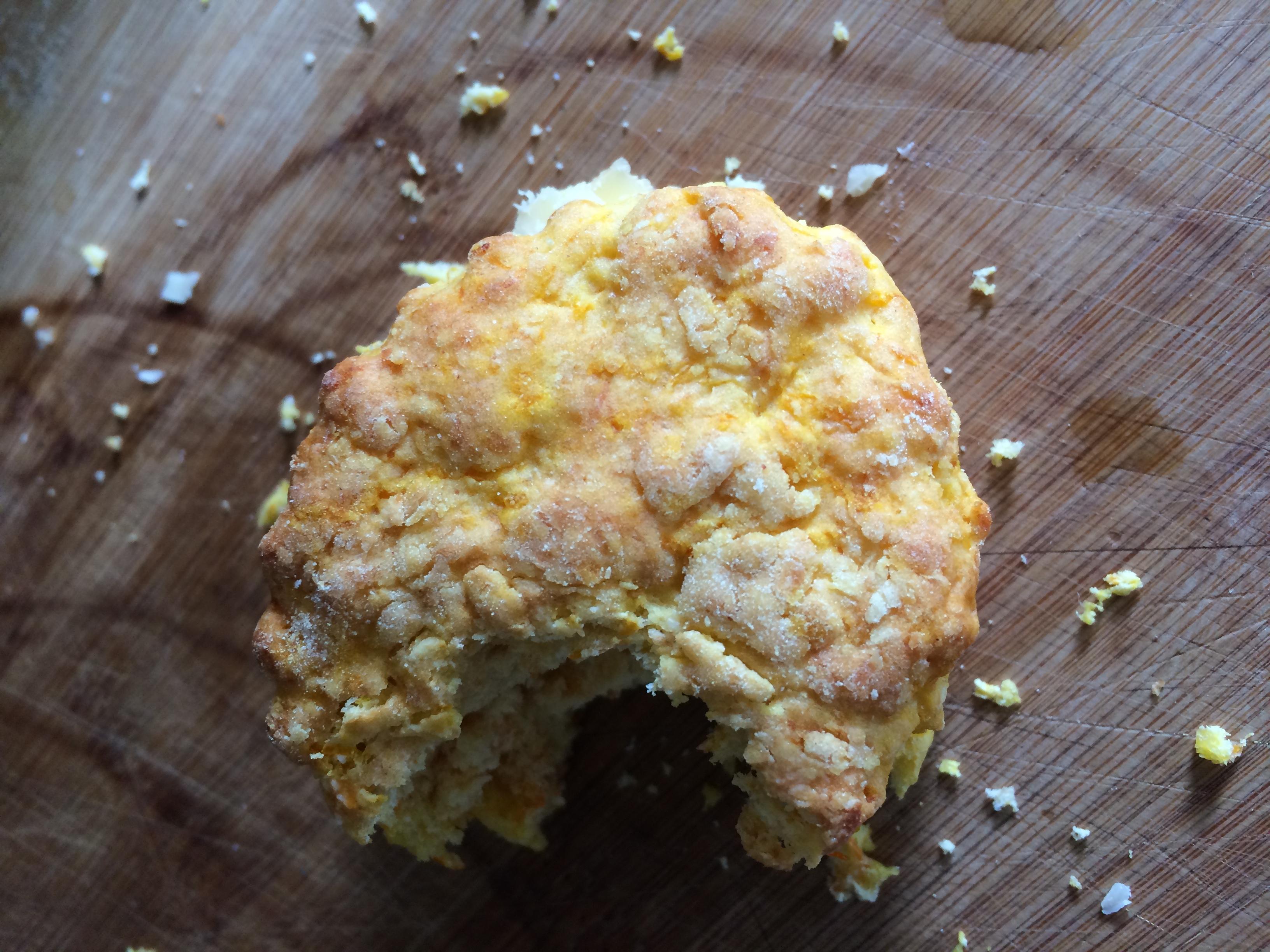 Butternut Squash & Parmesan Scones
